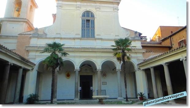 Fachada Basílica de São Clemente