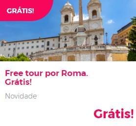 Tour gratuito em Roma