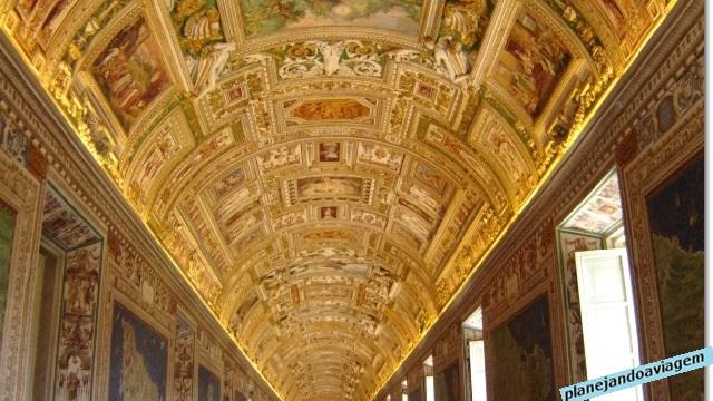 Interior dos Museus Vaticanos