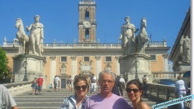 Roma - Piazza del Campidoglio e Familia Capiotti