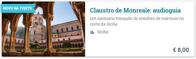 sicilia ingresso claustro monreale