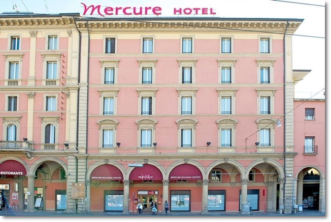 Bolonha - Hotel Mercure Centro (fonte: Booking)
