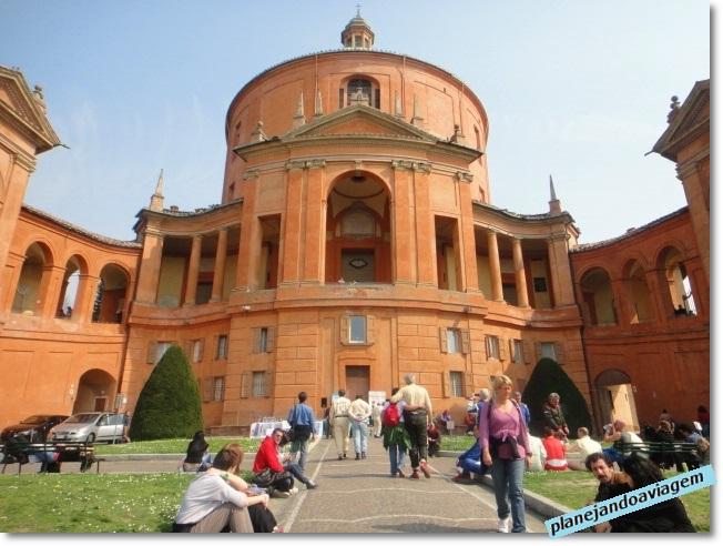 Bolonha - Basílica Madonna di San Lucca