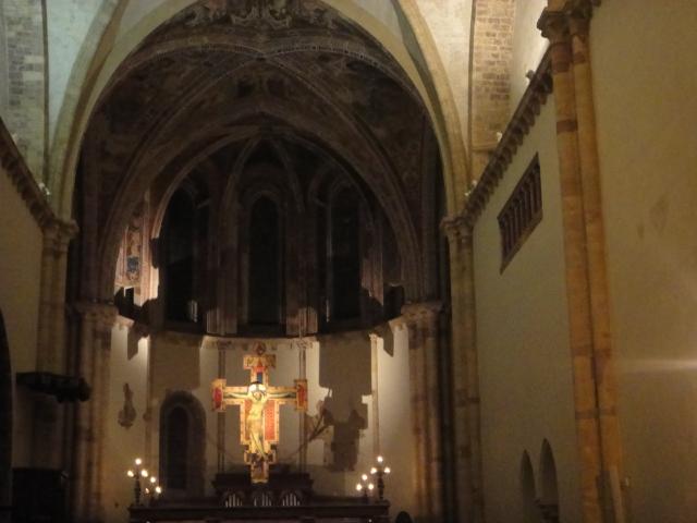 Interior da Igreja de Santa