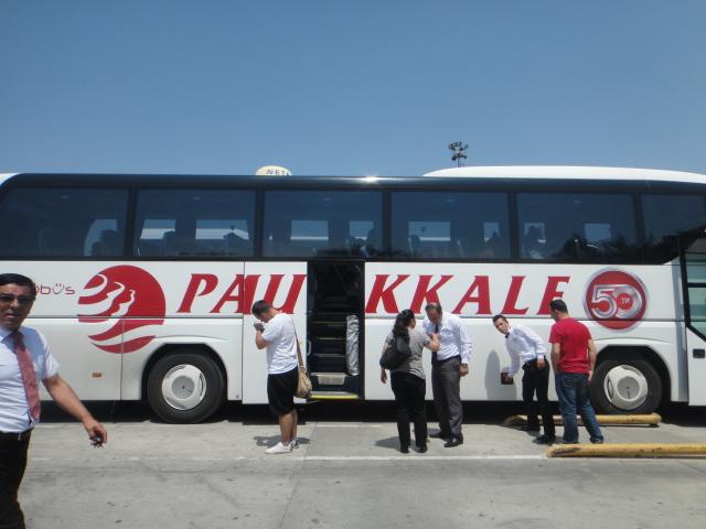 Ônibusda Pamukkale para Pamukkale
