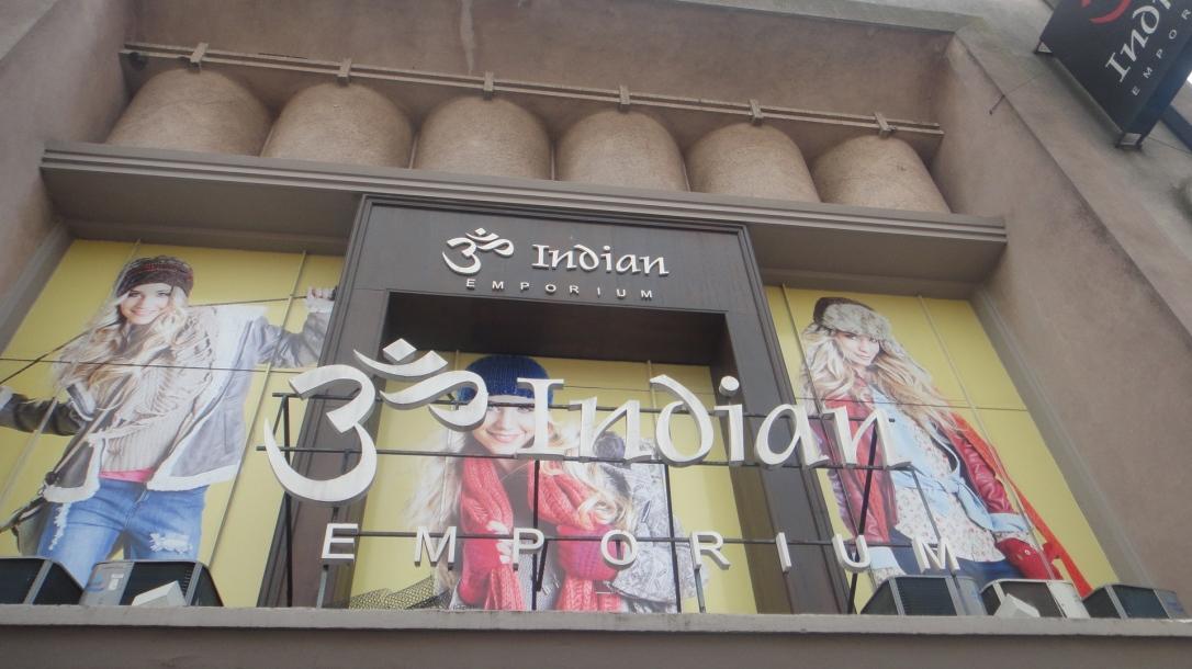 Fachada da Indian
