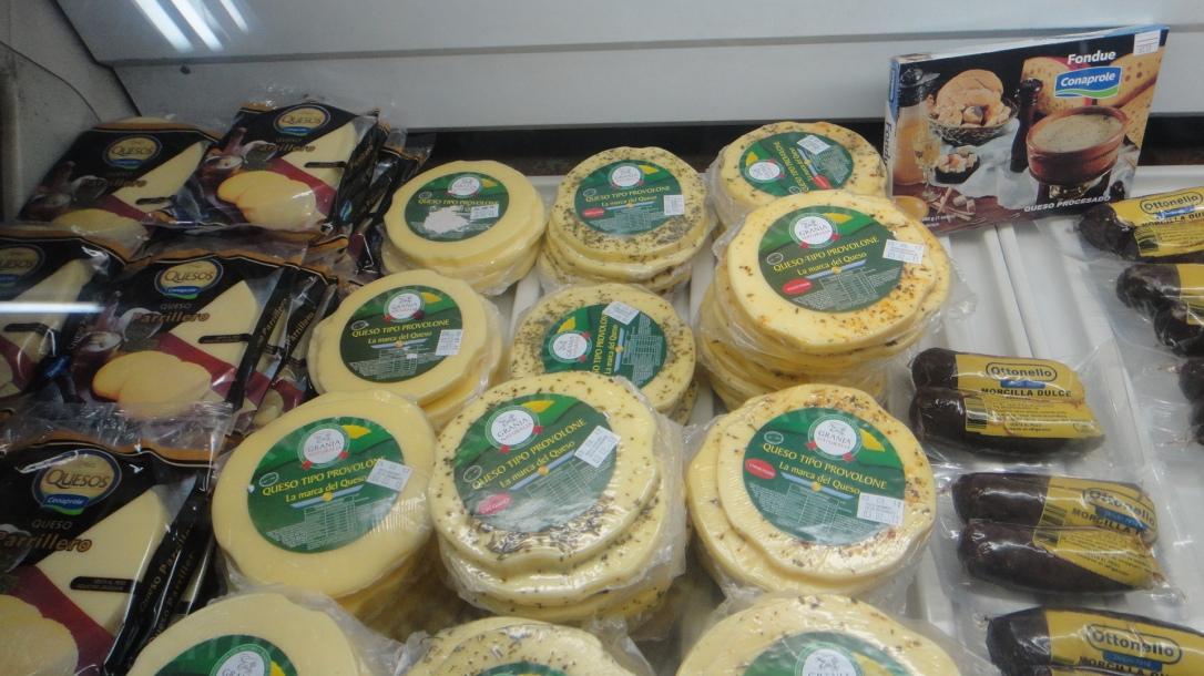 Produtos nas queserias/free shops