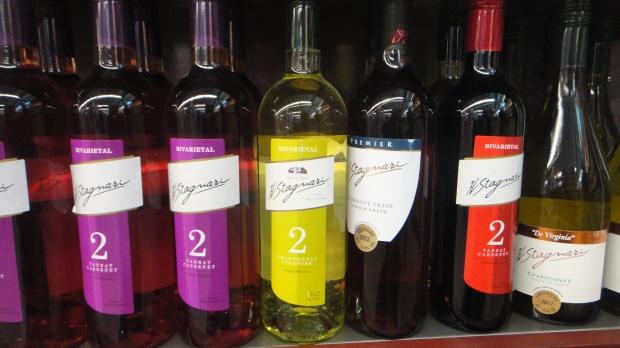 Vinhos Uruguaios à venda no supermercados e queserias