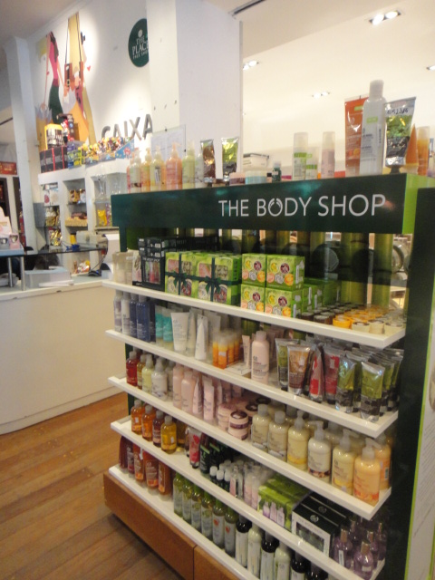 Estante The Body Shop na The Place