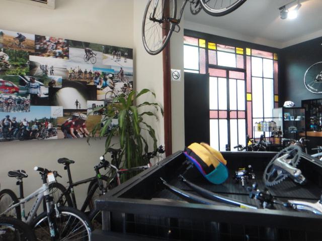 Interior Loja Biciclo