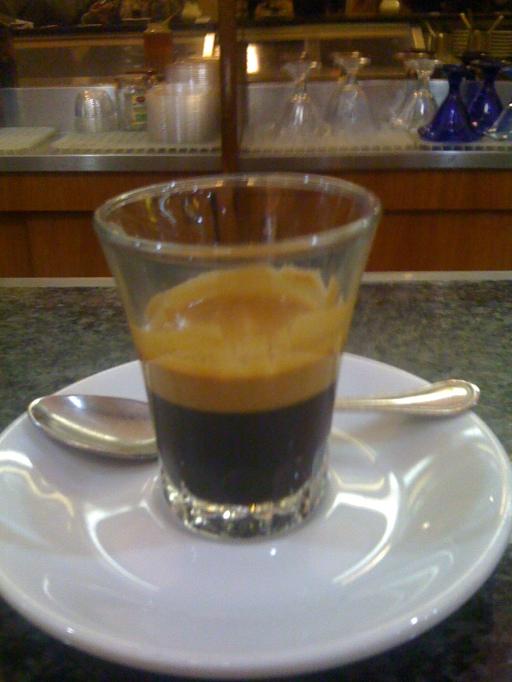 Espresso al Vetro