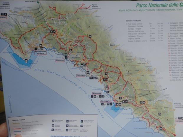 Mapa Turístico com os pontos de interesse da região