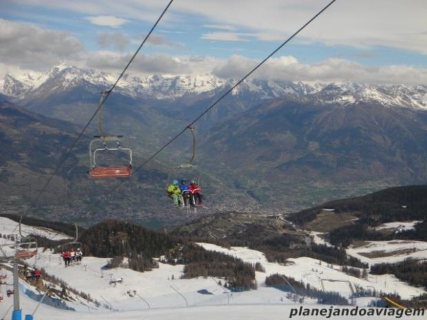 Literalmente Ski in the Sky