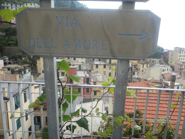 Na direção da Via dell'Amore