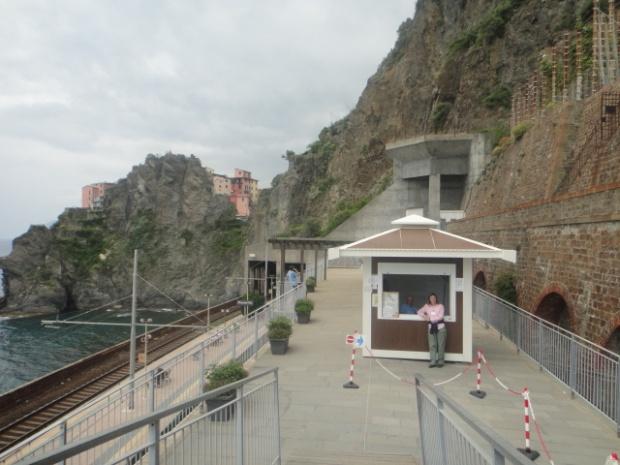 Via dell'Amore - Chegada ou ponto de partida em Manarola