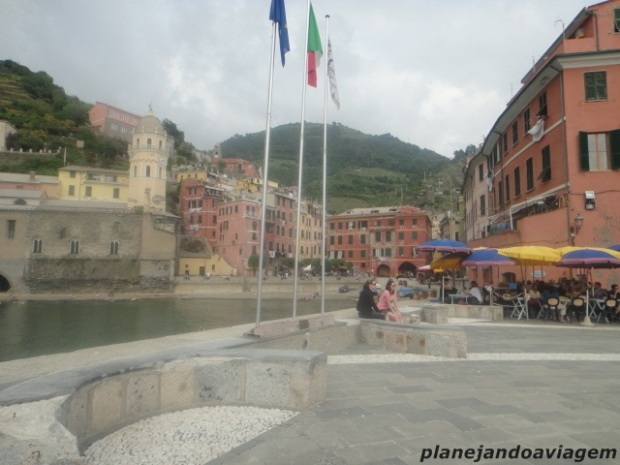 Vernazza - Praça Central