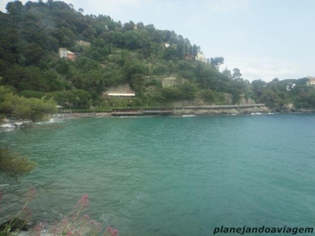 Caminho de Santa Margherita à Portofino