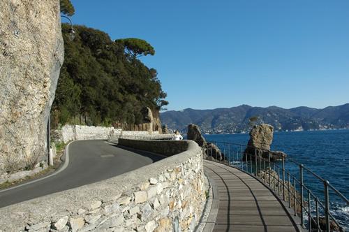 Caminho entre Portofino e Santa Margherita Ligure (comune.santa-margherita-ligure.ge.it)