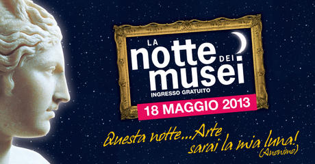 Folder evento La Notte nei Musei