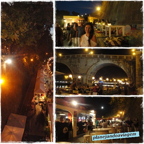 Feira as margens do Tevere