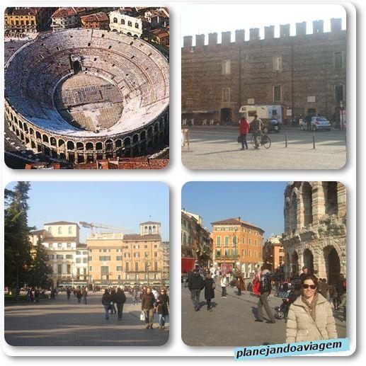 A Arena e a Piazza Bra