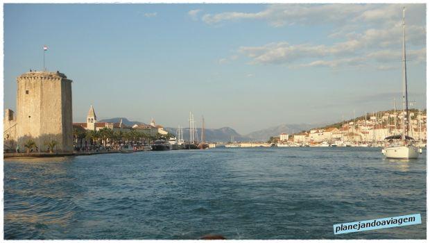 De Seget à Trogir: Canal entre Trogir e Ciovo