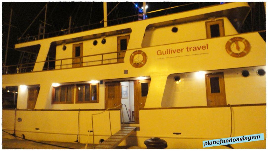 Gulliver Barco de Cruzeiro pela Croacia
