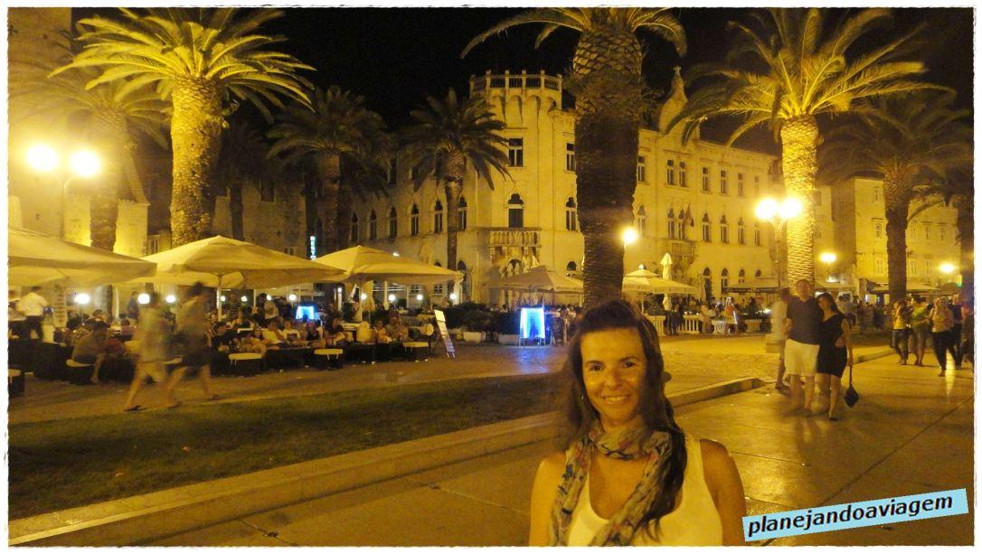 Porto Turistico Trogir à noite