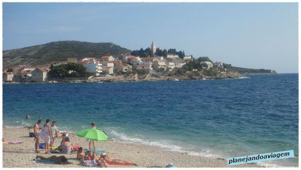 Praia Radusa - Começo da Praia