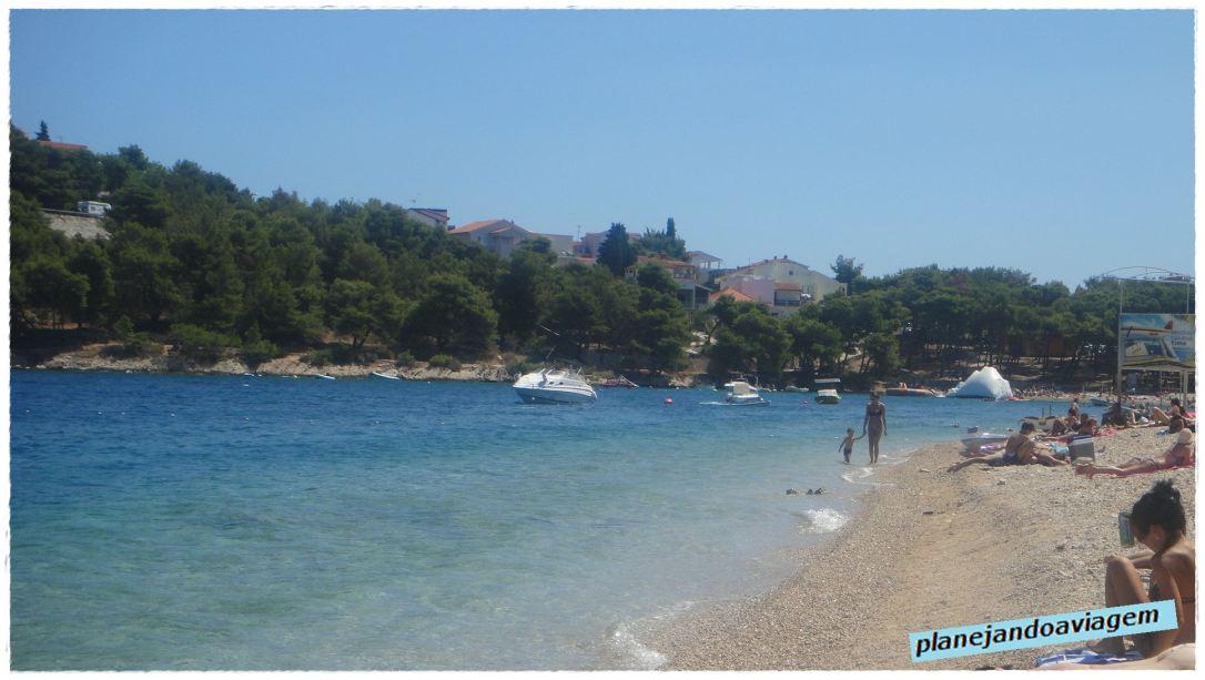 Praia Radusa - Canto Final da Praia