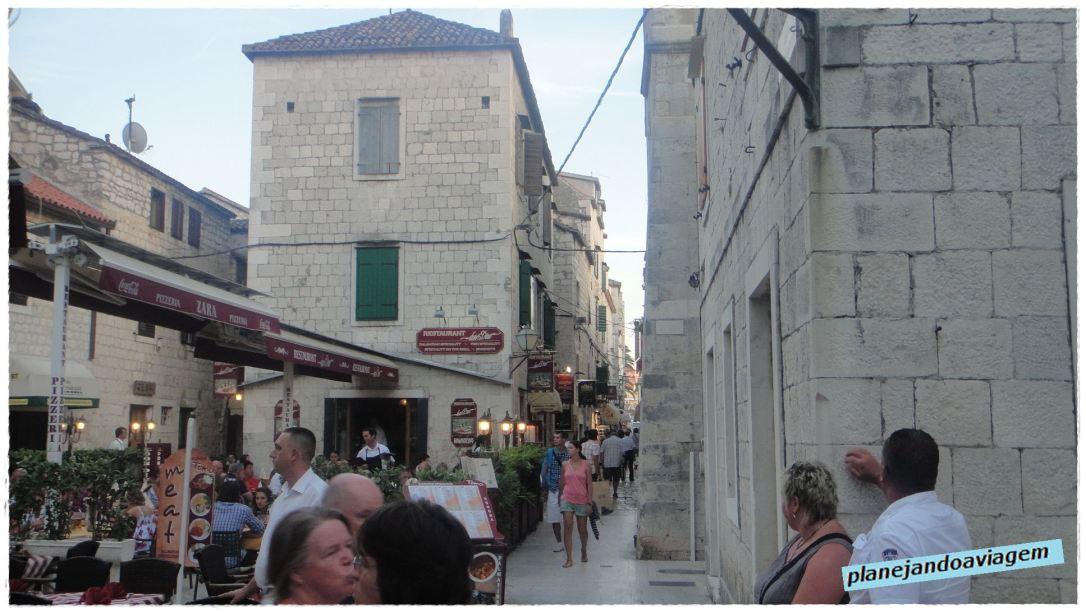 Ruas Centro Historico Trogir