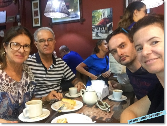 Rivera - Café em familia no no La Familia