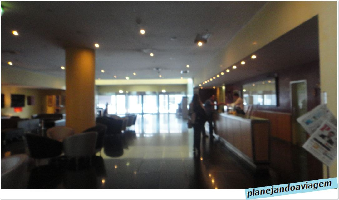 Hotel Vila Gale Opera - recepção