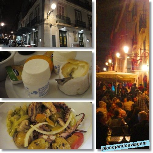 Restaurante Alfaia e Bairro Alto