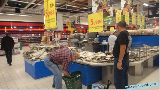 A ilha do Bacalhau - Supermercado Jumbo - Shopping Forum Almada