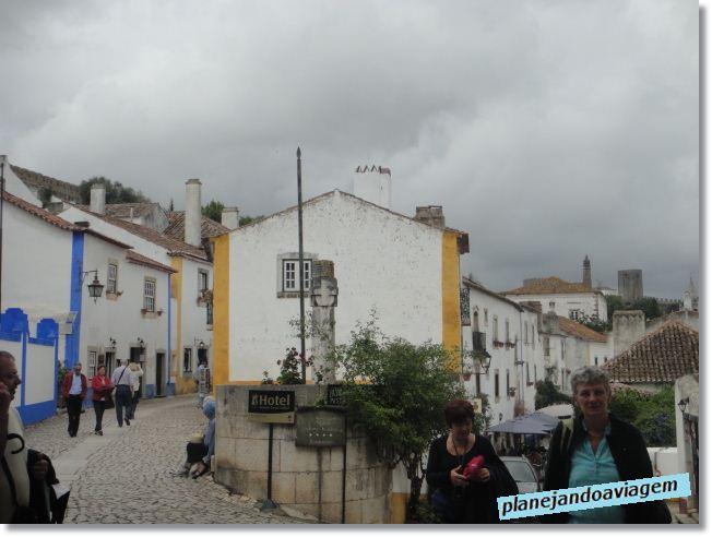 Óbidos - Logo depois da porta de entrada