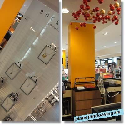 Novo Interior do The Place Free Shop - Rivera