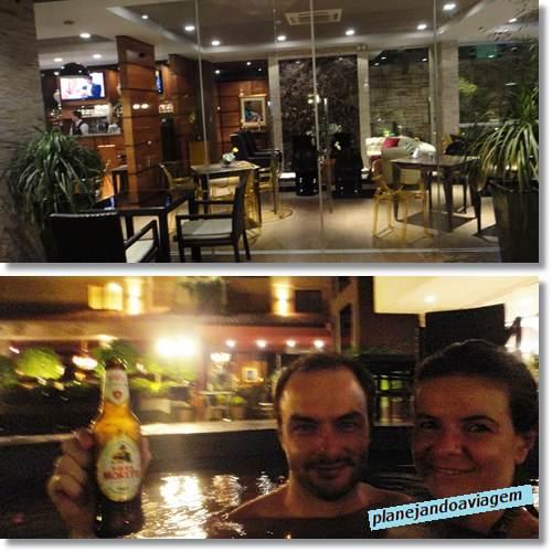 Hotel Las Ventanas - Bar e Jacuzzi - Ciudad del Este