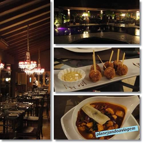 Restaurante do Hotel Las Ventanas - Ciudad del Este
