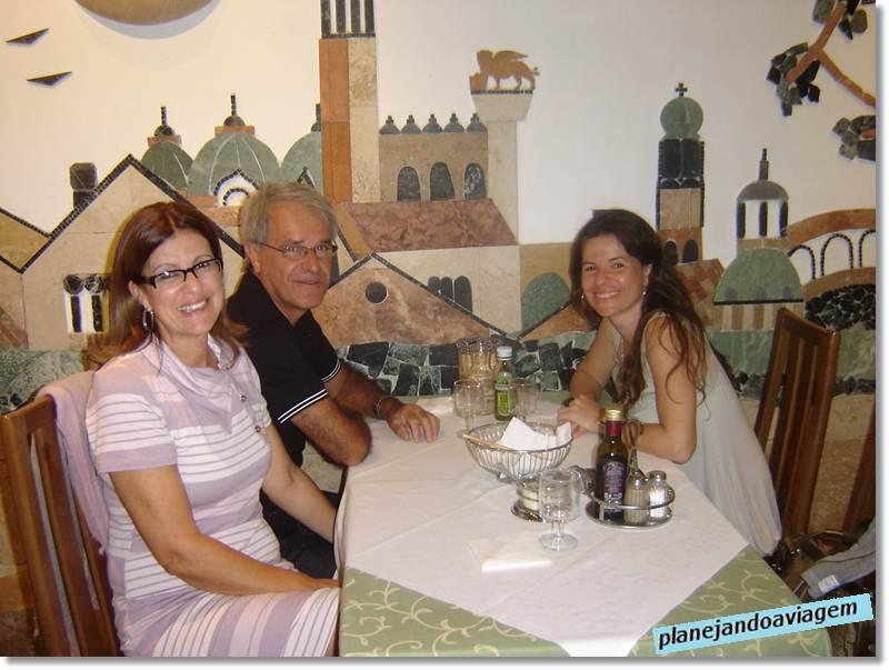 Restaurante Garibaldi em Mestre (interior)
