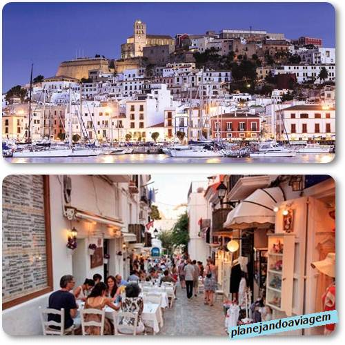 Ibiza Old Town/Centro Histórico (fonte: (thomson.co.uk e theguardian.com)