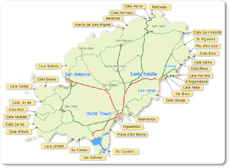 Ibiza Mapinha das Cidades e Praias2 (fonte: ibizapartytrips.com)