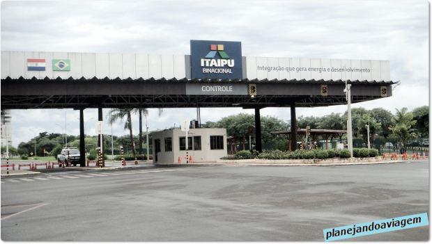 Usina de Itaipu - Entrada