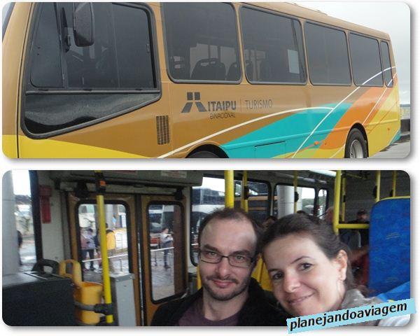 Usina de Itaipu - Micro Onibus do Circuito Especial