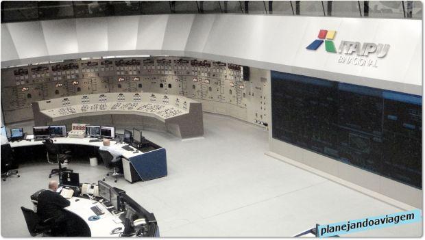 Usina de Itaipu - Sala de Controle