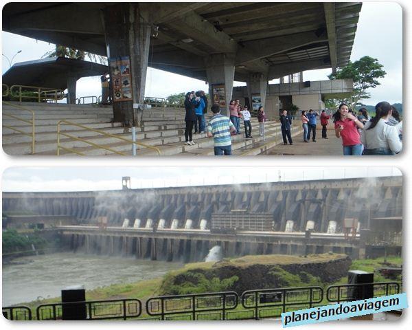 Usina Itaipu - Mirante e vista panoramica