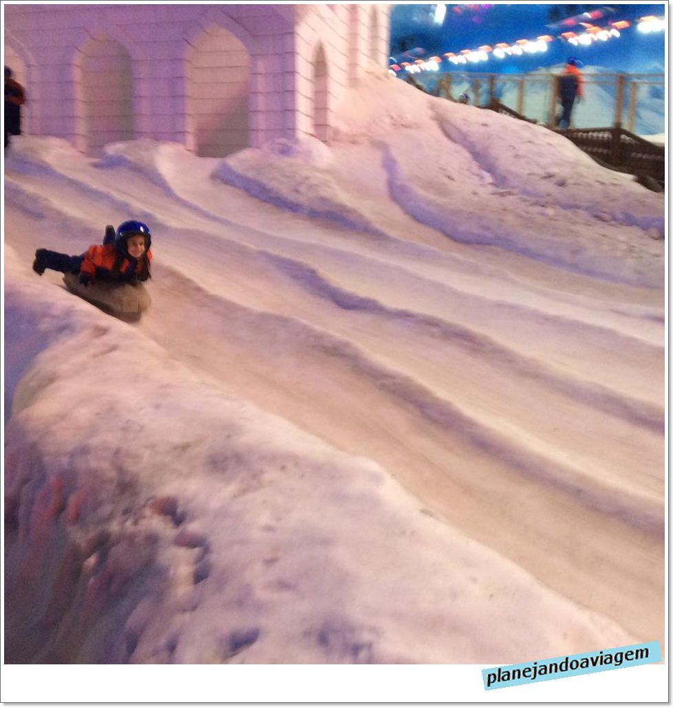 Esquibunda no Snowland