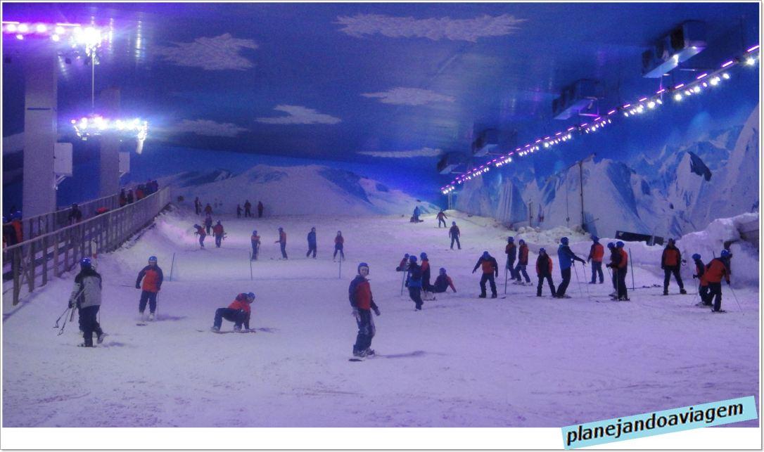 Pista de esqui e snow no Snowland