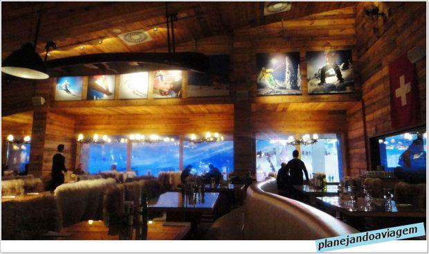 Restaurante no Snowland