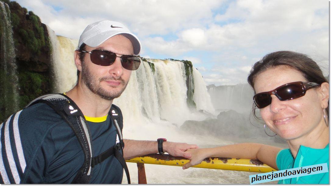 Quedas no Parque Nacional do Iguaçu